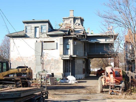 The Richardson-Kennedy House on West Church Street
