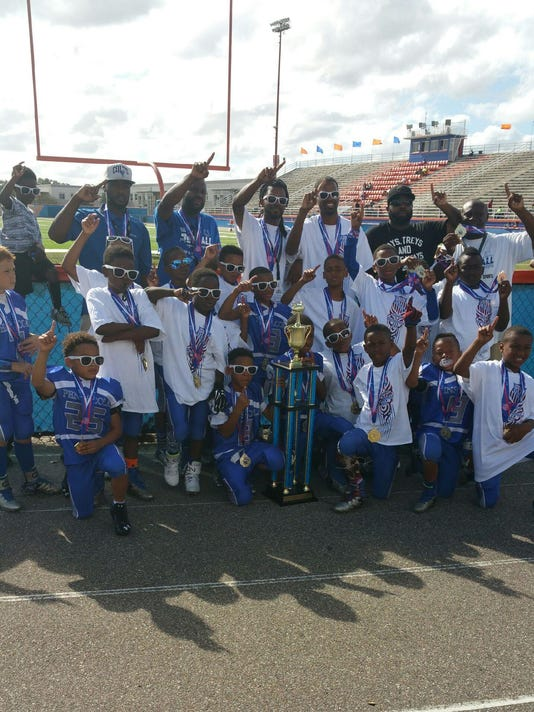 AAU Football Champs