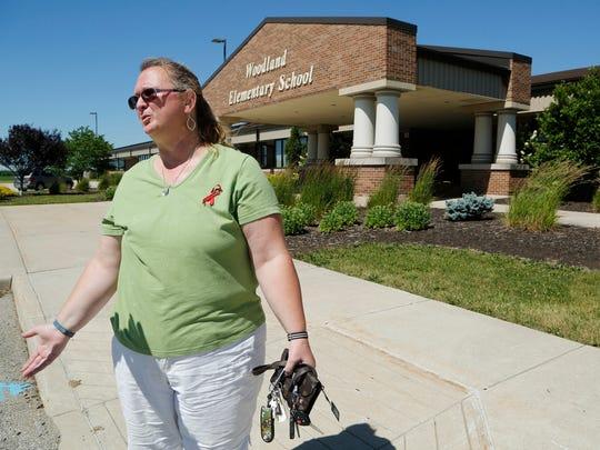Missy Leist talks about missing second grade teacher