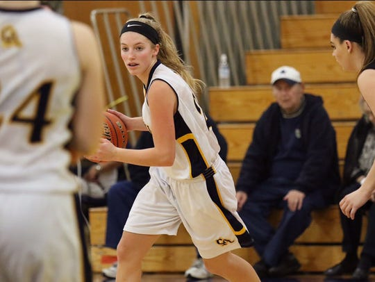 Greencastle-Antrim's Lydia Crist is one of the sophomore