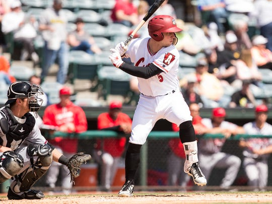 Calallen graduate Wyatt Mathisen plays for the Double-A Altoona Curve in the Pittsburgh Pirates farm system.