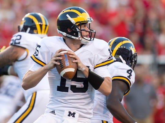 Michigan quarterback Jake Rudock.