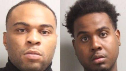 Gregory Mortez James (left) and Trevor Brandon Hudson