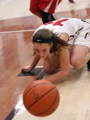 Abby Dornbusch and Oak Harbor had their eyes on a sectional crown Saturday.