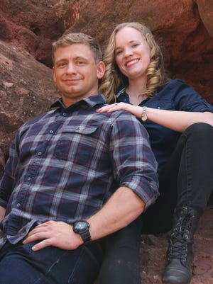 Amber Willems and Jeff Montgomery are engaged to be married on Dec. 3.