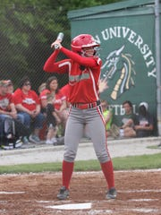 Oak Harbor's Emma Bergman finished her high school career with a program-record 116 runs.