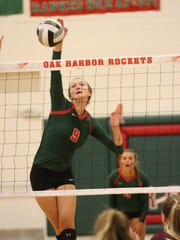 Peyton Bloomer is one of seven Rockets with varsity