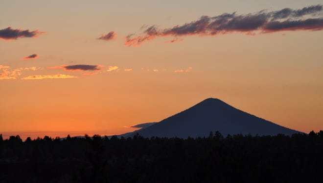 Dominating Central Oregon's skyline, Black Butte's pyramid has long been a popular location for fire lookouts and hikers.  for 04-15-12 column