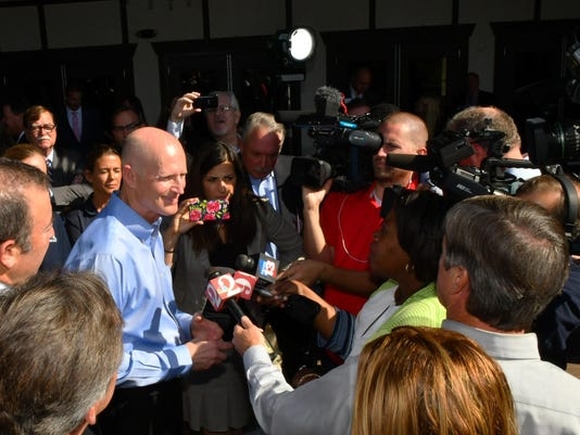 Governor Rick Scott at Brevard Zoo