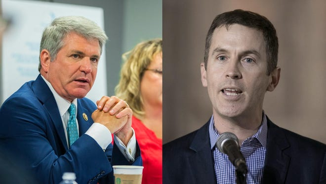 U.S. Rep. Michael McCaul, a Republican, is running for reelection in the 10th congressional district in Texas. Democrat Mike Siegel is challenging him for the seat.