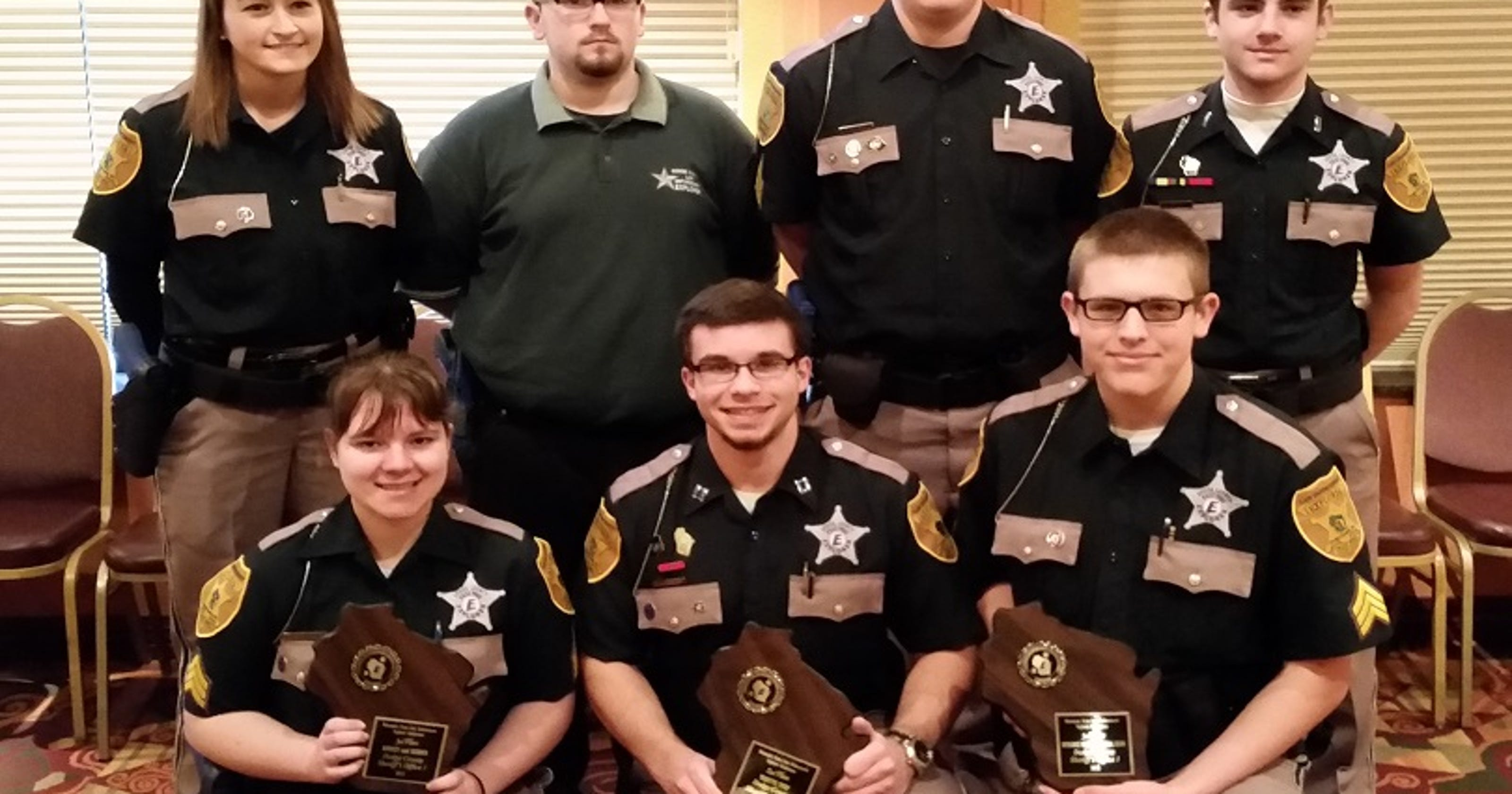 Dodge County Law Enforcement Explorer Post receives awards at state