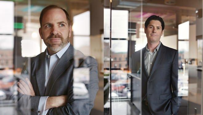 Vectorform cofounders Jason Vazzano, left and Kurt Steckling.