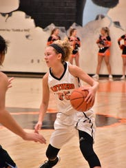 Powell High junior Haley Schubert helped the Panthers