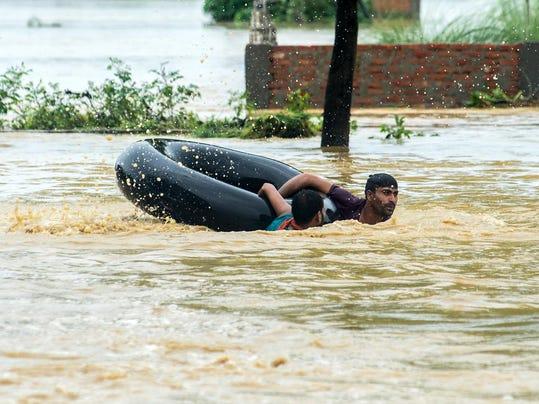 NEPAL-DISASTER-FLOOD