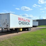 The city canceled its proposal to move Wausau Chemical to the industrial park.