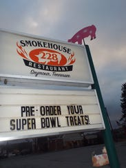Smokehouse 228 occupies a block of Chapman Highway,