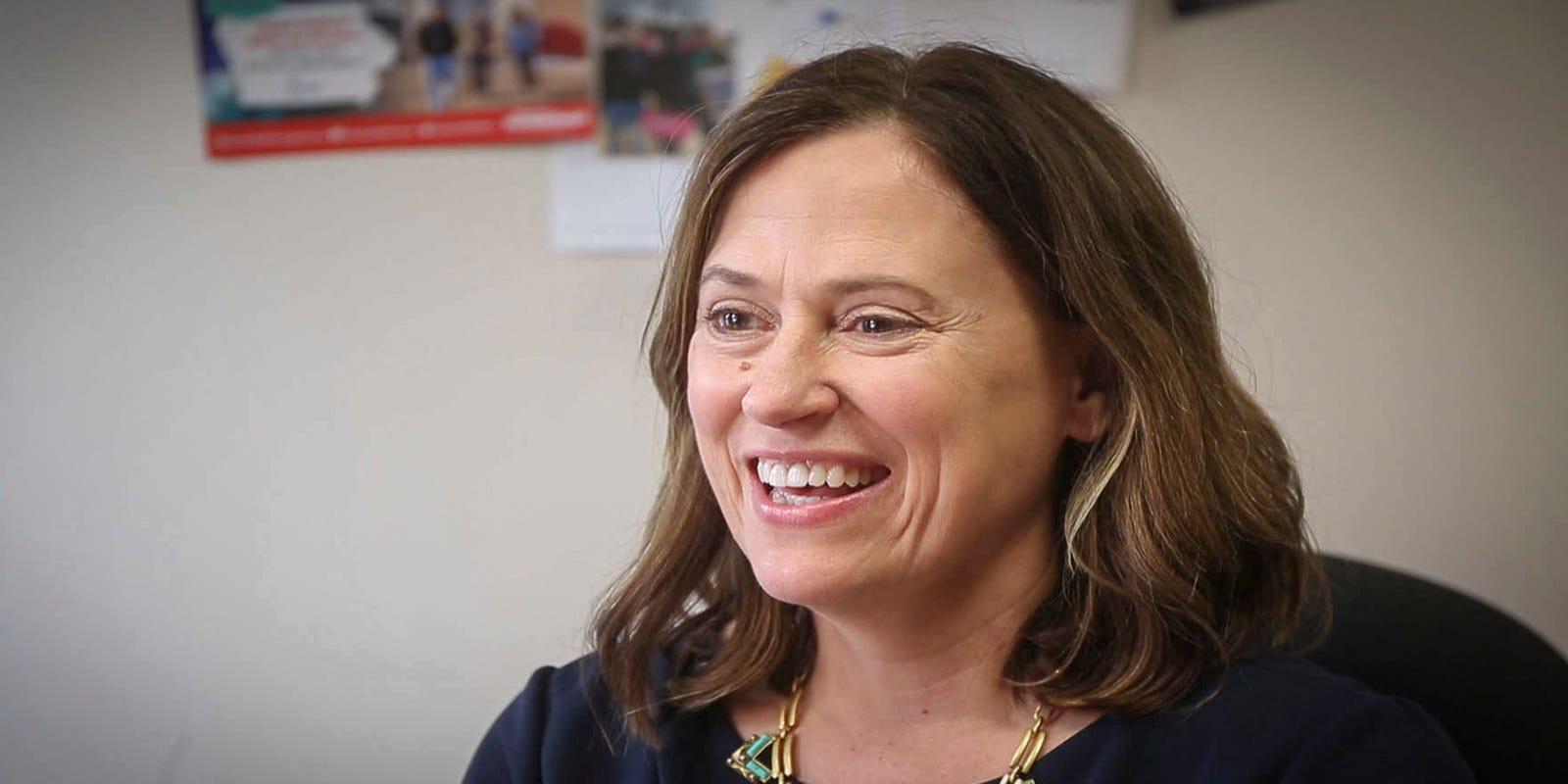 Democrat Theresa Greenfield raises $1.1M in race for US Senate seat