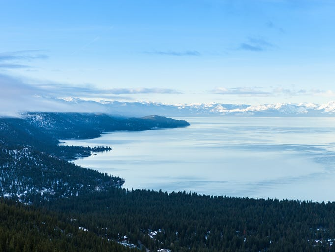 Scenes from North Lake Tahoe during winter.