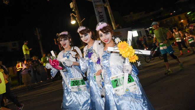 In this file photo, race participants showed up in a variety of costumes during the 2016 Guam Ko'Ko' Road Races at Gov. Joseph Flores Beach Park in Tumon.