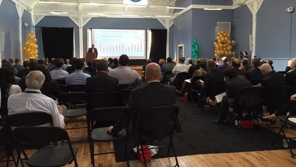 Cintrifuse's annual meeting took place Wednesday at at 1311 Vine St..