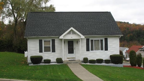 This property at 44 Woodland Ave. in Binghamton recently sold for $152,340.