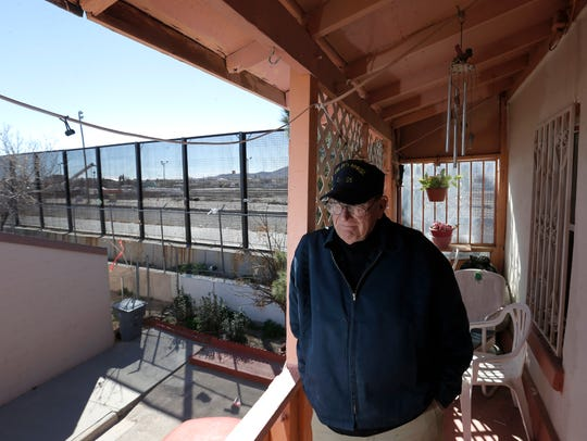 A south El Paso resident who lives right beside the