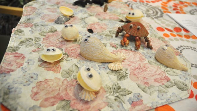 Sea creatures are a popular item at the Bonita Springs Shell Club.