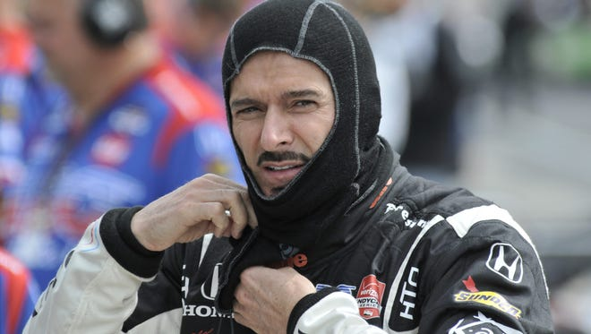 Alex Tagliani again will drive a Honda for A.J. Foyt Racing in the Indianapolis 500.