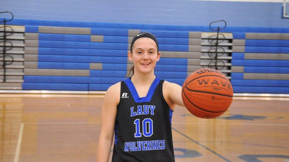 Polk County senior Hayley Kropp has committed to play