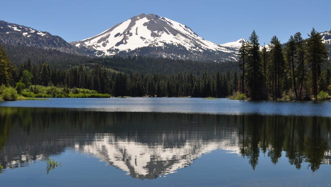 The most recent of at least 10 eruptions in the past 1,000 years occurred at Northern California's Lassen Peak from 1914-17.
