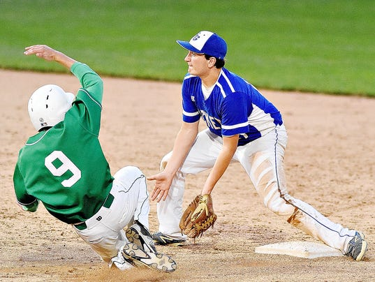 District 3 AAA Championship Baseball Spring Grove vs Donegal