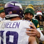 Rodgers, Nelson shred Vikings as surging Packers win 38-25