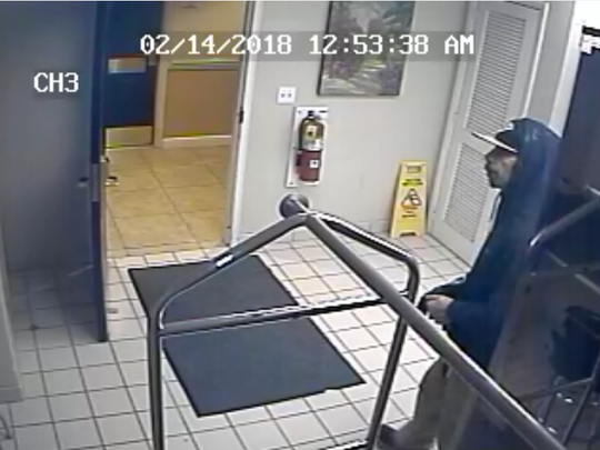 Man sought after police said he removed an ATM from a hotel.
