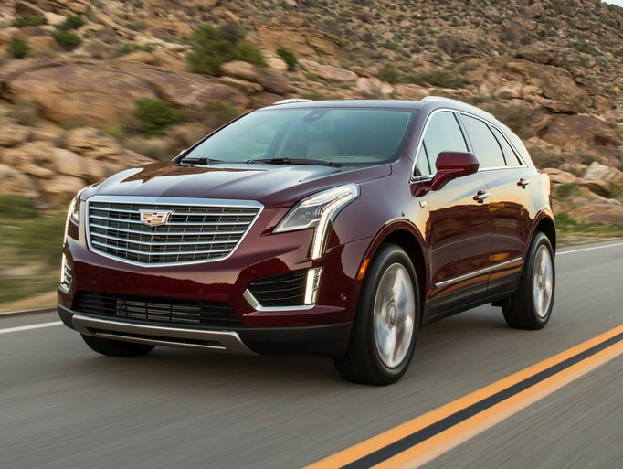 The 2017 Cadillac XT5 is the first in a series of new