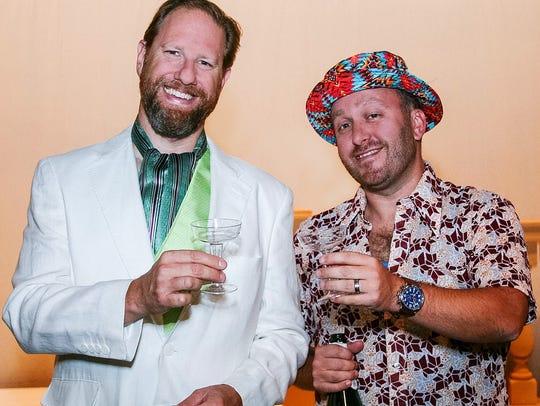 Chris Steinmayer (Oak Park) and Dan Hartley (Grosse