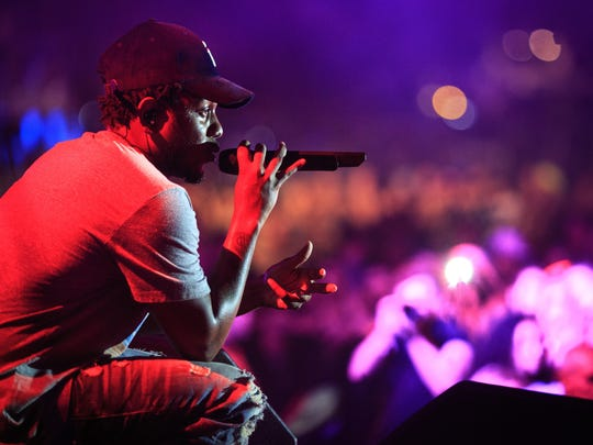 Kendrick Lamar will perform at the Marcus Amphitheater in Milwaukee on July 1 as part of Summerfest.