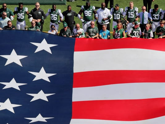 NFL and flag