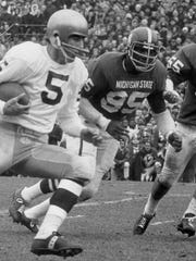 "Charles ""Bubba"" Smith is one of only six Spartans to"