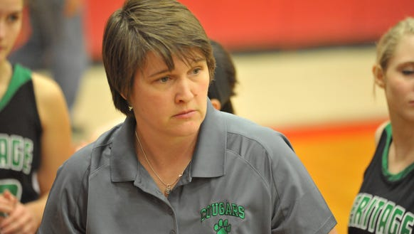 Mountain Heritage coach Susie Shelton and the Lady Cougars are 3-0 this season.