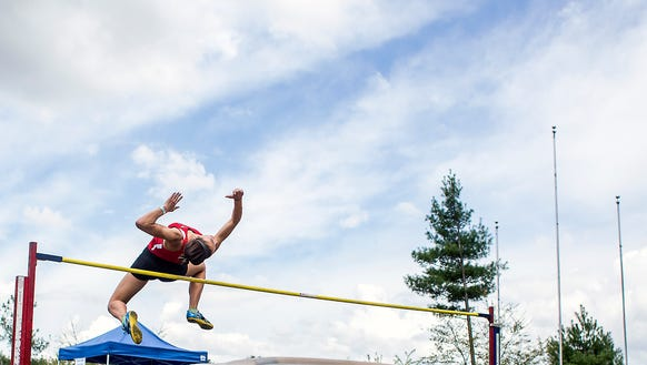 Two Franklin jumpers will compete in the state high jump competition on Friday.
