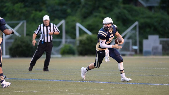 Roberson sophomore Ty Gossett is the youngest 1,000-yard