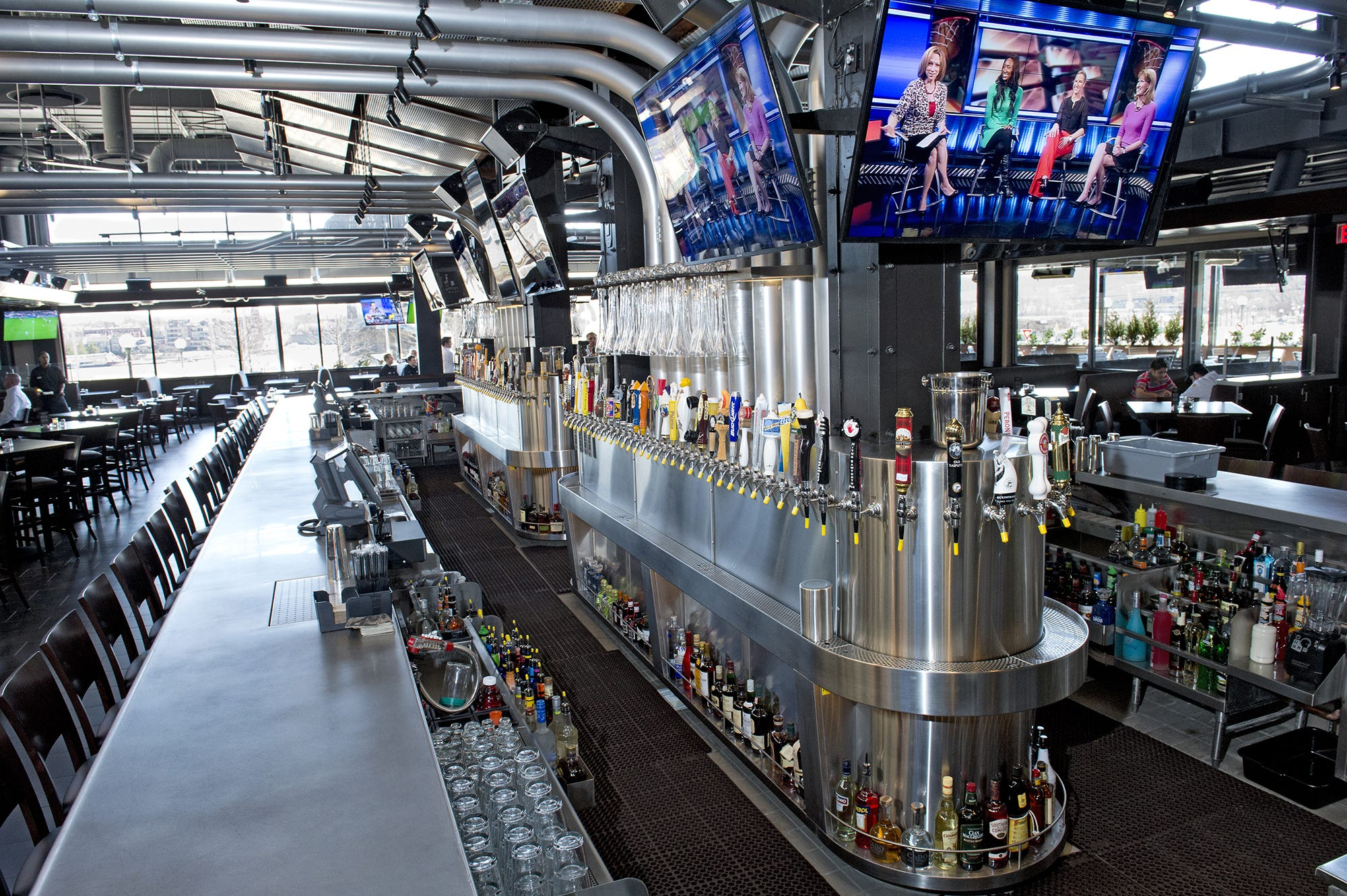 Yard House Bars Feature The Island Bar, Which Offers