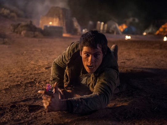 Thomas (Dylan O'Brien) is about to make some major