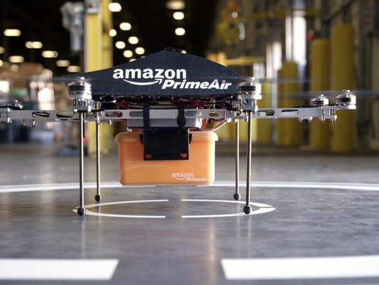 AP AMAZONE DRONE DELIVERY F USA