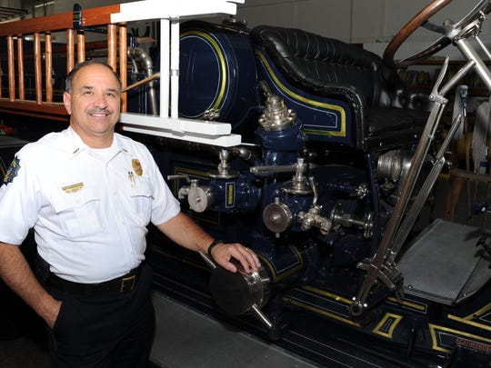 "Easley's Butch Womack is the South Carolina State Association of Fire Chiefs' Fireman of the Year. ""If you're dedicated to the job, you're on call 24/7,"" Womack says."