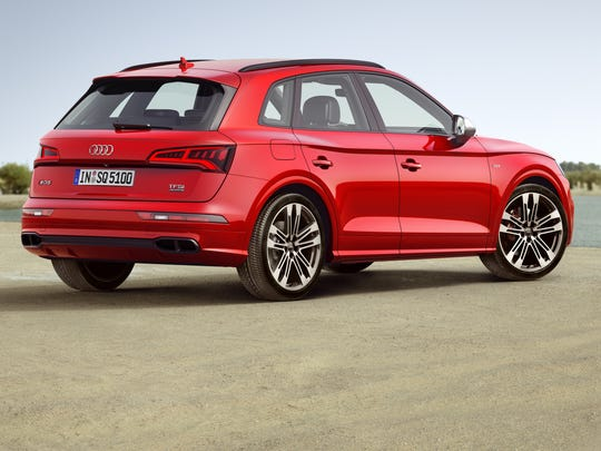 Audi's Q5 is seats five -- and is seriously fast