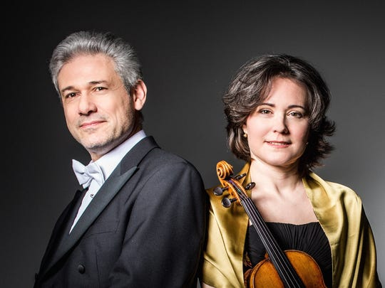 The Corpus Christi Chamber Music Society presents violinist Judith Ingolfsson and pianist Vladimir Stoupel at 4 p.m., Sunday, April 30 in Wolfe Recital Hall, Fine Arts Center Music Building, Del Mar College East, Ayers at Kosar. Ingolfsson is a past award winner of the Corpus Christi International Competition for Piano and Strings. Cost: $25; free, Del Mar College students. Information: 361-698-1612 or ssturman@delmar.edu.