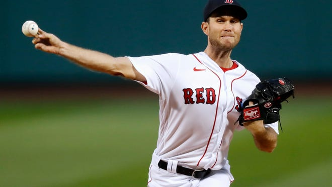 Right-hander Ryan Weber has allowed five home runs in only 10 innings this season for the Red Sox.