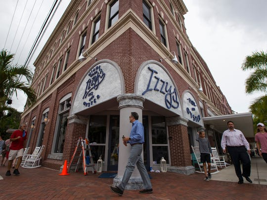 The highly anticipated Izzy's Fish & Oyster in downtown Fort Myers is scheduled to open Wednesday.