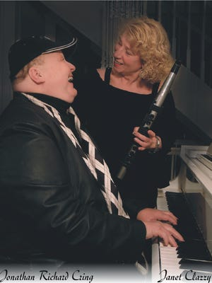 Cring and Clazzy will perform at the Milford United MEthodist Church this Sunday.